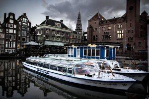 Bierboot Amsterdam - Grachtenfahrt inkl. Bier