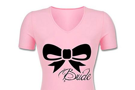 Jga Junggesellinnenabschied Schleife Bride Braut Tailliertes T Shirt