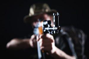 Junggesellenabschied Idee: Schusswaffentraining und Shooting