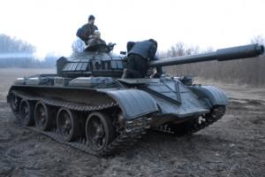Panzer fahren beim Junggesellenabschied in Berlin