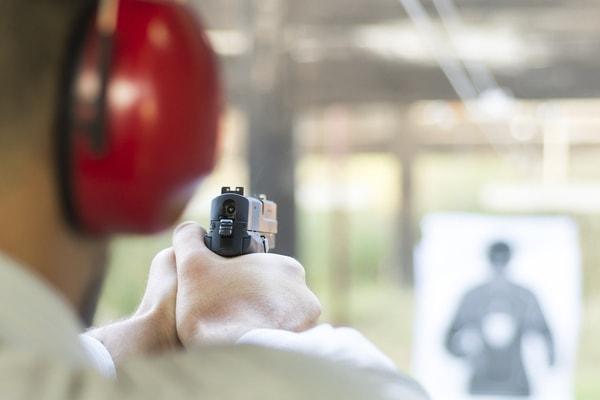 Schießtraining beim Junggesellenabschie München