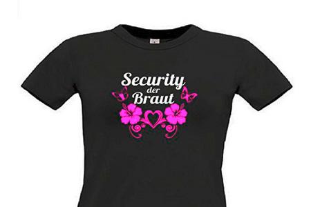 T Shirt Fuer Den Junggesellinnenabschied Jga Braut Securityweb