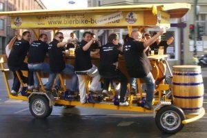 Bierbike Stuttgart - Idee für den Junggesellenabschied
