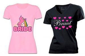 Schicke JGA Shirts für den Junggesellinnenabschied