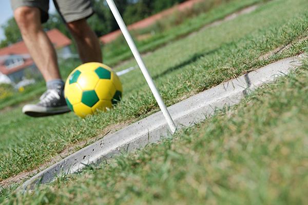 Fußball Golf beim Junggesellenbschied