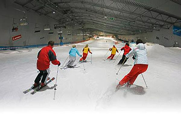 Skihalle Neuss beim JGA Düsseldorf