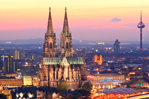 how to get from amsterdam to koln