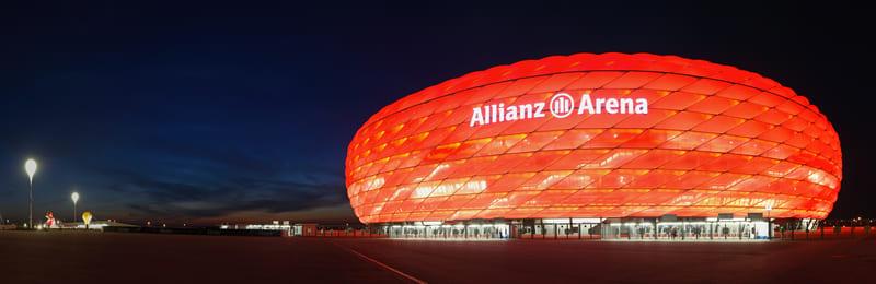 Fußball Tour München - In die Allianzarena mit dem JGA