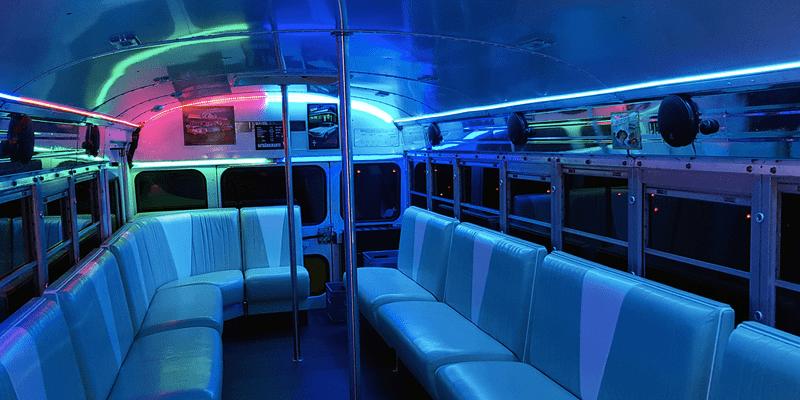 Partybus München - Innenansicht