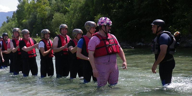 Isar Rafting Junggesellenabschied München 3