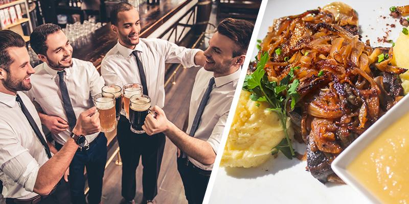 Brauereiführung Stuttgart - Schwäbisches Dinner