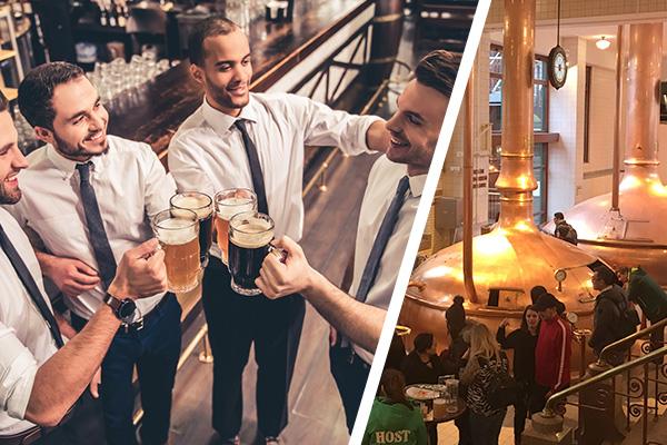 Junggesellenabschied Ideen Männer - Brauhaustour Brauereiführung