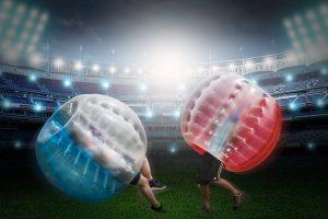 Junggesellenabschied Idee: Bubble Soccer