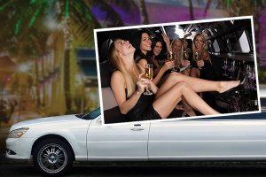 Limousine mieten für die Party beim JGA