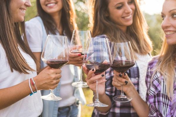 Junggesellinnenabschied Tipps Stuttgart - Die Weinprobe
