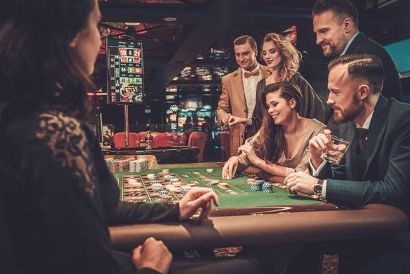 Casino Besuch beim Junggesellenabschied