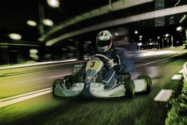 JGA Prag: Go Kart Race mit der ganzen Crew