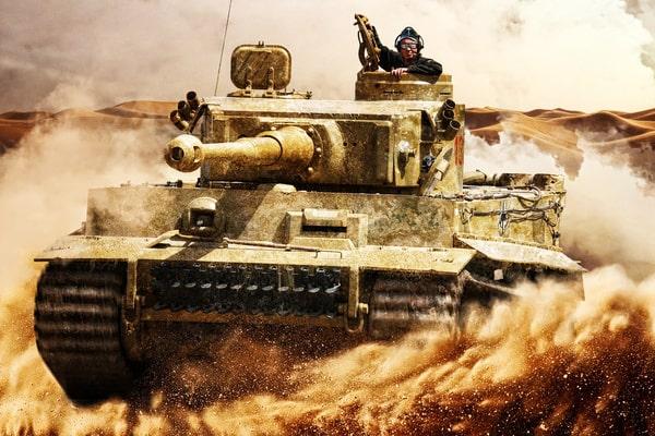 Panzer selber fahren beim Junggesellenabschied Prag