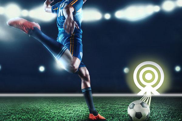 XXL Fußball Darts beim Junggesellenabschied spielen