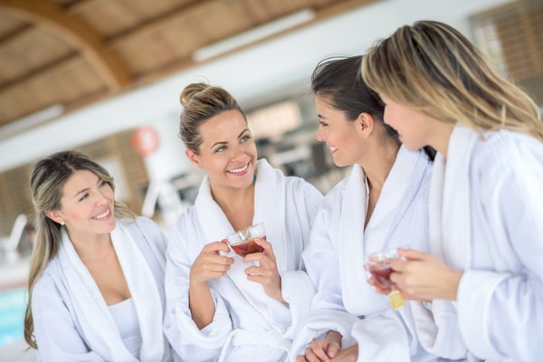 Wellness beim Junggesellinnenabschied