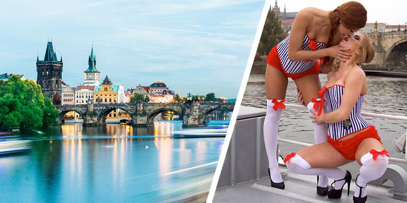 Prag Rivercruise inkl Bier und Duoshow (Lesben Show)
