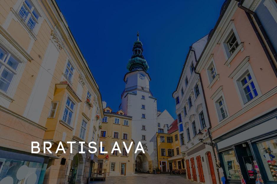 JGA planen lassen Bratislava