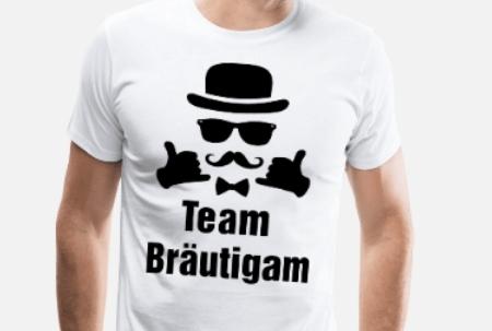 JGA Shirts Männer - Team Bräutigam Junggesellenabschied JGA