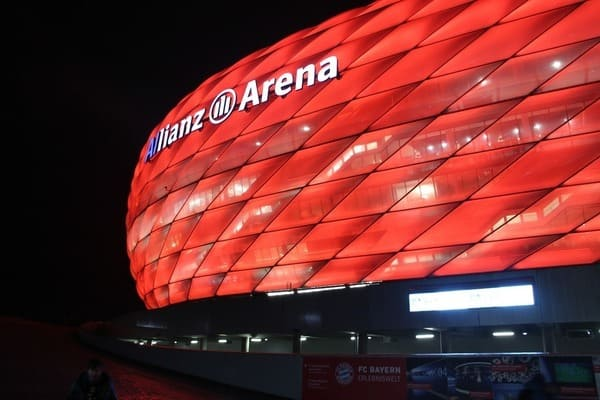 Fußball Tour JGA München Junggesellenabschied