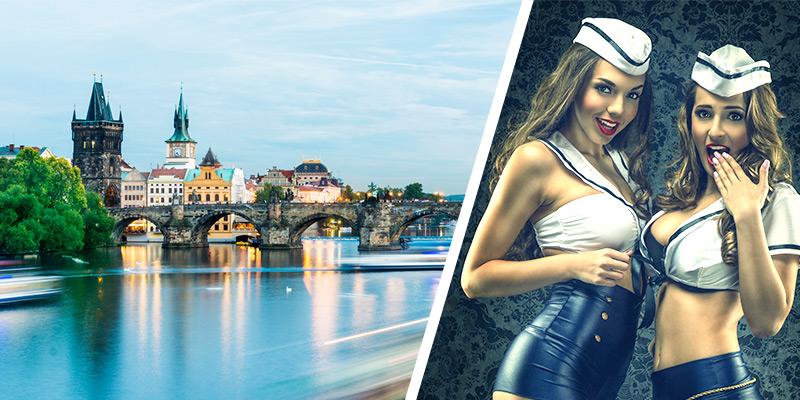 Rivercruise Prag - Strip Boot mit Lesben Show