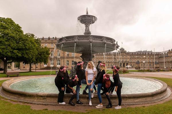 JGA Stuttgart - Fotoshooting beim Junggesellinnenabschied