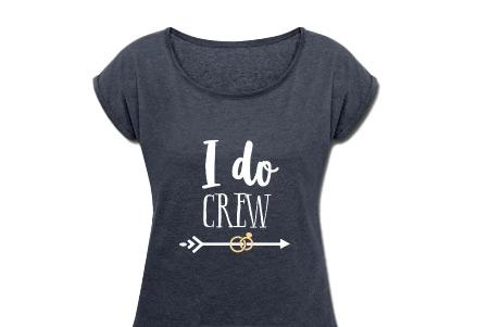 I Do Crew JGA Shirts Pfeil Ringe