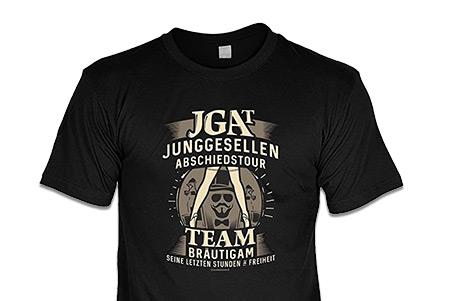 JGA Shirts Männer - Junggesellen Abschiedstour