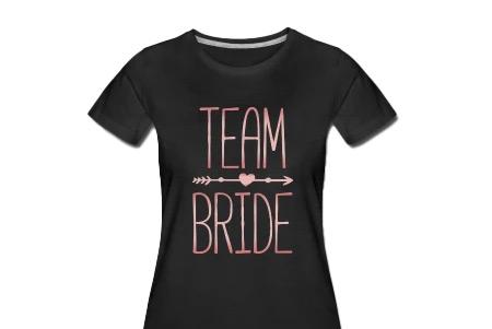 JGA Shirt Team Bride rosegold