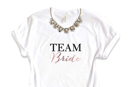 Team Bride Shirt JGA
