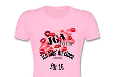 JGA Shirts Frauen - Lustig für die Braut