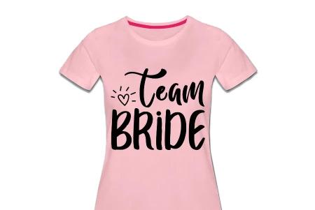 JGA Shirts Frauen - Stillvoll für das Team Bride