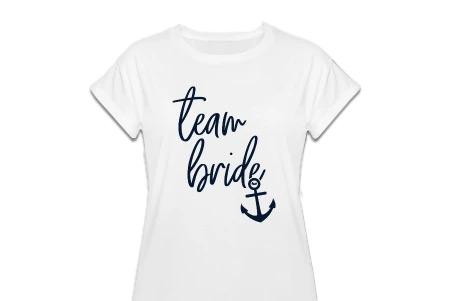 Team Bride Shirts - Hafen der Ehe - JGA Shirts Frauen für das Team Braut