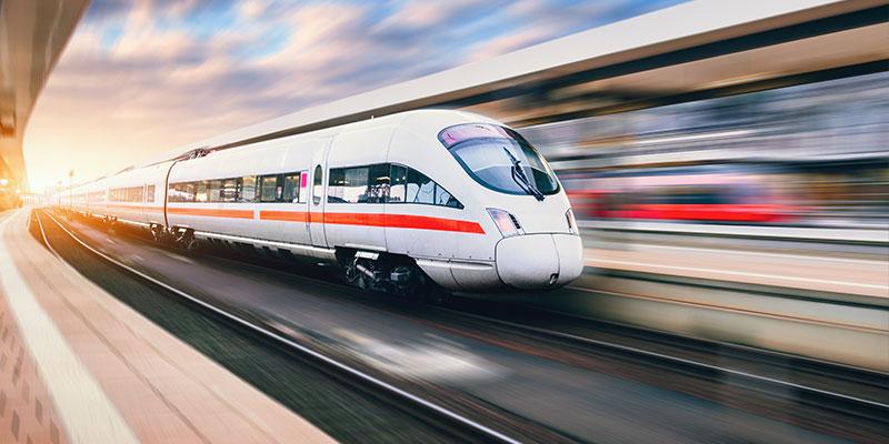 Bahn Anreise zum Junggesellenabschied