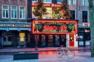 Coffeeshop Guide beim JGA Amsterdam und Junggesellenabschied