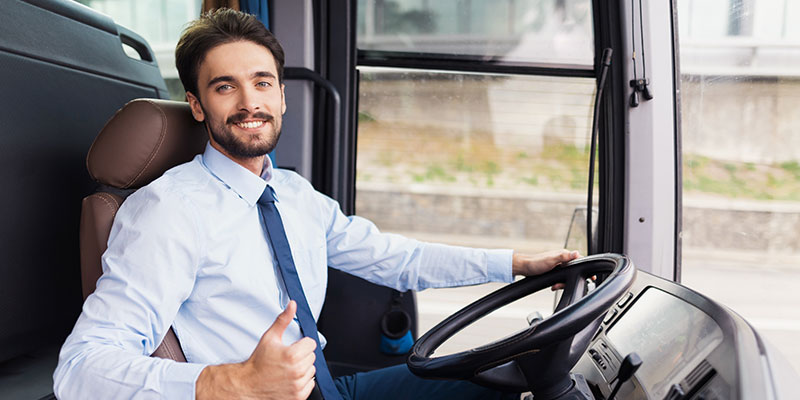 Bus mieten mit Fahrer
